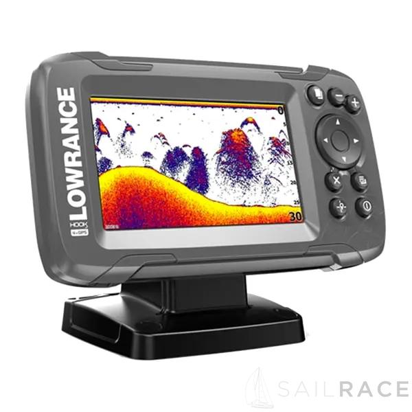 (Lowrance Fishfinder) HOOK2-4X GPS BULLET SKIMMER CE ROW