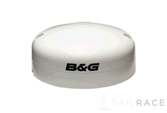B&G The ZG100 Antenna with built in rate compass provides high accuracy position at a 10Hz update rate.