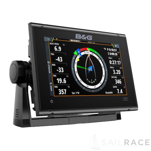 B&G 7-inch chartplotter and radar display with global basemap - image 3