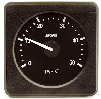 B&G H5000 Analogue True Wind Speed 0-50KT - image 2