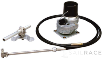 B&G SD10 Mechanical Drive unit for sailboat 25'-37' with 6' steering cable with electromagnetic clutch with override function