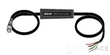 B&G The H5000 Fastnet Interface provides a supported solution for customers wishing to progressively upgrade H3000 systems and/or replace displays on an H3000 system with the latest H5000 Graphic displays