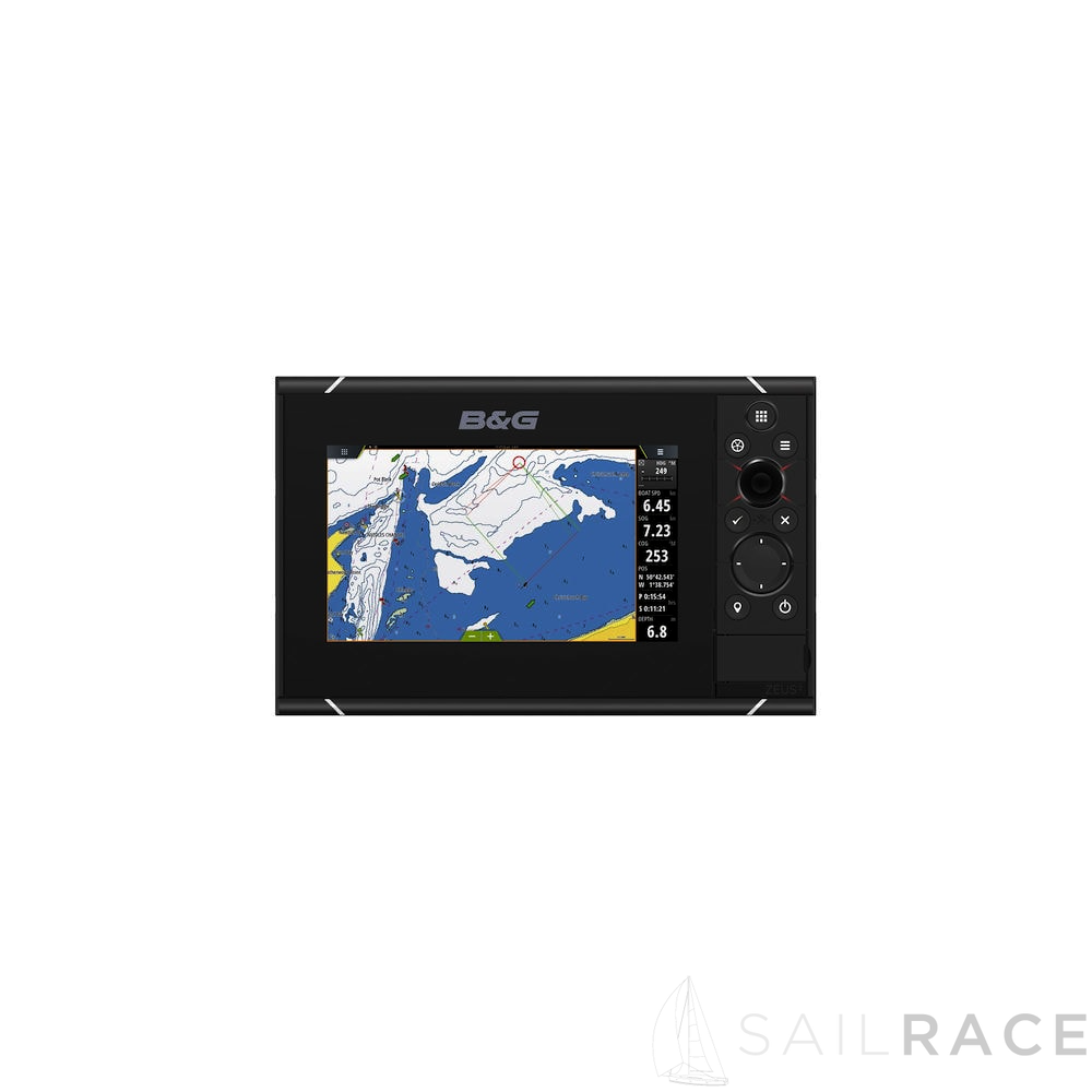 B&G The Zeus³-7 is an easy-to-use chartplotter navigation system for blue water cruisers and regatta racers