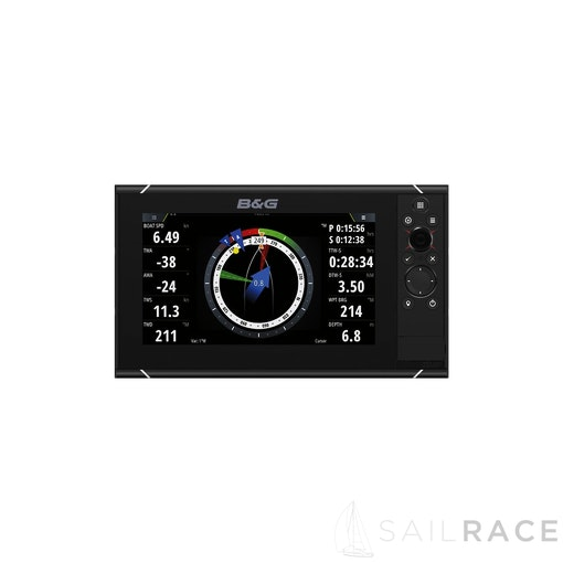 B&G The Zeus³-9 is an easy-to-use chartplotter navigation system for blue water cruisers and regatta racers