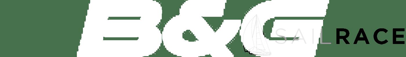 B&G Logo - White