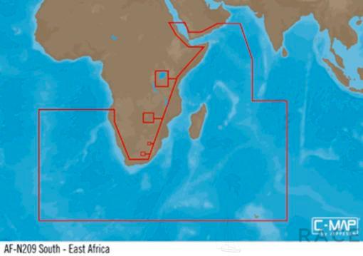 C-MAP AF-Y209 : South-East Africa