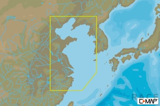 C-MAP AN-N241 : Wenzhou To Yellow Sea