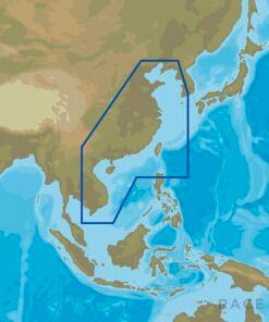 C-MAP AS-N214 : China