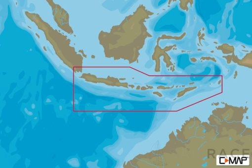 C-MAP AS-N221 : Southern Indonesia