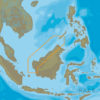 C-MAP AS-N225 - Eastern Malaysia - MAX-N - Asia - Local