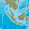 C-MAP AS-Y209 - Singapore And Gulf Of Thailand - MAX-N+  - Asia - Local