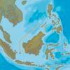 C-MAP AS-Y225 : Eastern Malaysia