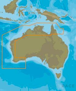 C-MAP AU-Y012 : Cairns to Esperance