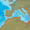 C-MAP EM-N076 : Côtes du Sud-Ouest de l'Europe