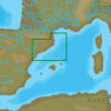 C-MAP EM-N140 : MAX-N L: PENISCOLA TO PORT LA NOUVELLE : Mediterranean and Black Sea - Local