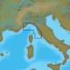 C-MAP EM-N143 : MAX-N L: VENTIMIGLIA TO GIANNUTRI ISLAND : Mediterranean and Black Sea - Local