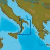 C-MAP EM-N153 : MAX-N L: GIOIA TAURO TO BARI : Mediterranean and Black Sea - Local