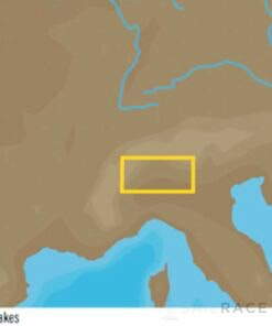 C-MAP EM-Y040 : Italian Lakes