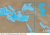 C-MAP EM-Y111 : East Mediterranean  Black Caspian Seas