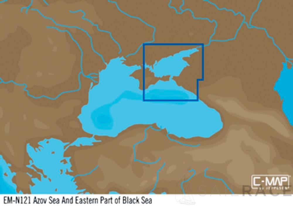 Cartina Mondo Orientale.C Mappa Em Y121 Mar D Azov E Parte Orientale Del Mar Nero Max N Locale Sailrace