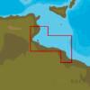 C-MAP EM-Y136 : MAX-N+  L CAP AFRICA TO MISRATAH : Mediterranean and Black Sea - Local