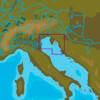 C-MAP EM-Y152 : MAX-N+  L RAVENNA TO PAKOSTANE : Mediterranean and Black Sea - Local
