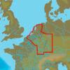 C-MAP EN-N076 : Belgium Inland And River Rhein