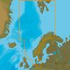 C-MAP EN-N300 : North Sea And Denmark