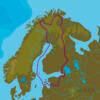 C-MAP EN-N326 : Finland Lakes