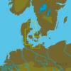C-MAP EN-N332 : MAX-N L: LIMFJORDEN TO SWINOUJSCIE : North and Baltic Seas - Local