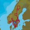 C-MAP IT-N590 : Scandinavia Acque interne