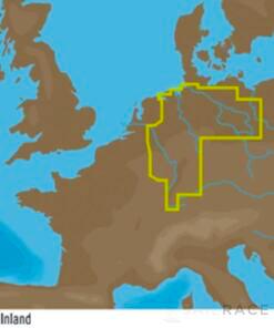 C-MAP EN-Y080 : Germany Inland