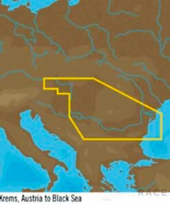 C-MAP EN-Y082 : Danube- Kelheim to Black Sea