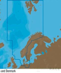 C-MAP EN-Y300 : North Sea and Denmark