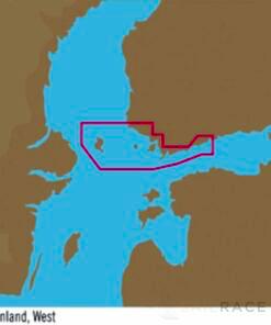 C-MAP EN-Y309 : Gulf of Finland  West