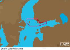 C-MAP EN-Y309 : Ouest du golfe de Finlande