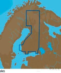 C-MAP EN-Y326 : Finland Lakes