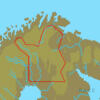 C-MAP EN-Y329 : MAX-N+ L: FINLAND LAKES NORTH : Freshwaters West Europe - Local