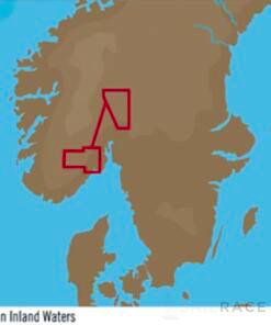 C-MAP EN-Y586 : Acque interne norvegesi