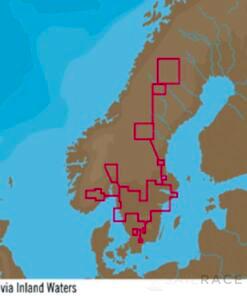 C-MAP EN-Y590 : Scandinavia Inland Waters