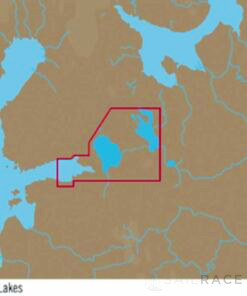 C-MAP EN-Y604 : Russian Lakes