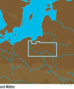 C-MAP EN-Y802 : Polish Inland Waters