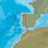 C-MAP EW-N135 : Côtes du Portugal