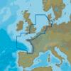 C-MAP EW-N227 : North-West European Coasts