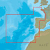 C-MAP EW-N228 : West European Coasts
