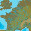 C-MAP EW-N230 : Francia Acque interne del Nord Est