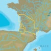 C-MAP EW-N233 : France South West Inland Waters