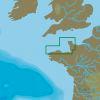 C-MAP EW-N318 : MAX-N L: L'ABERWRAC'H TO GRANDCAMP MAISY : West European Coasts - Local