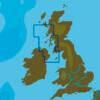 C-MAP EW-N323 : MAX-N L: KYLE OF LOCHALSH TO ISLE OF MAN : West European Coasts - Local