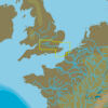C-MAP EW-N328 : MAX-N L: COLCHESTER TO EASTBOURNE AND THAMES : West European Coasts - Local